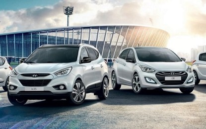 Hyundai: tutti i numeri per i Mondiali di Calcio