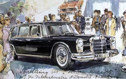 Mercedes-Benz Classic porta a Brescia i capolavori di Liska