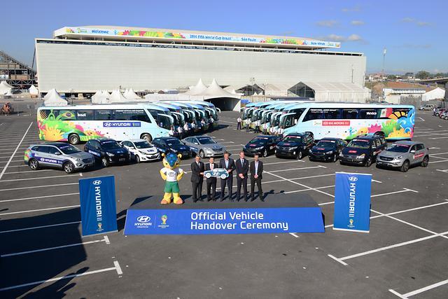 Hyundai pronta per la FIFA World Cup Brasil 2014