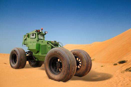 Michelin inventa lo pneumatico anti-mina