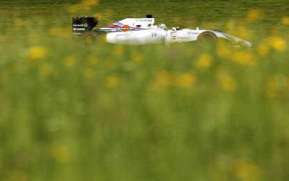 Austria: pole di Massa e prima fila tutta Williams!