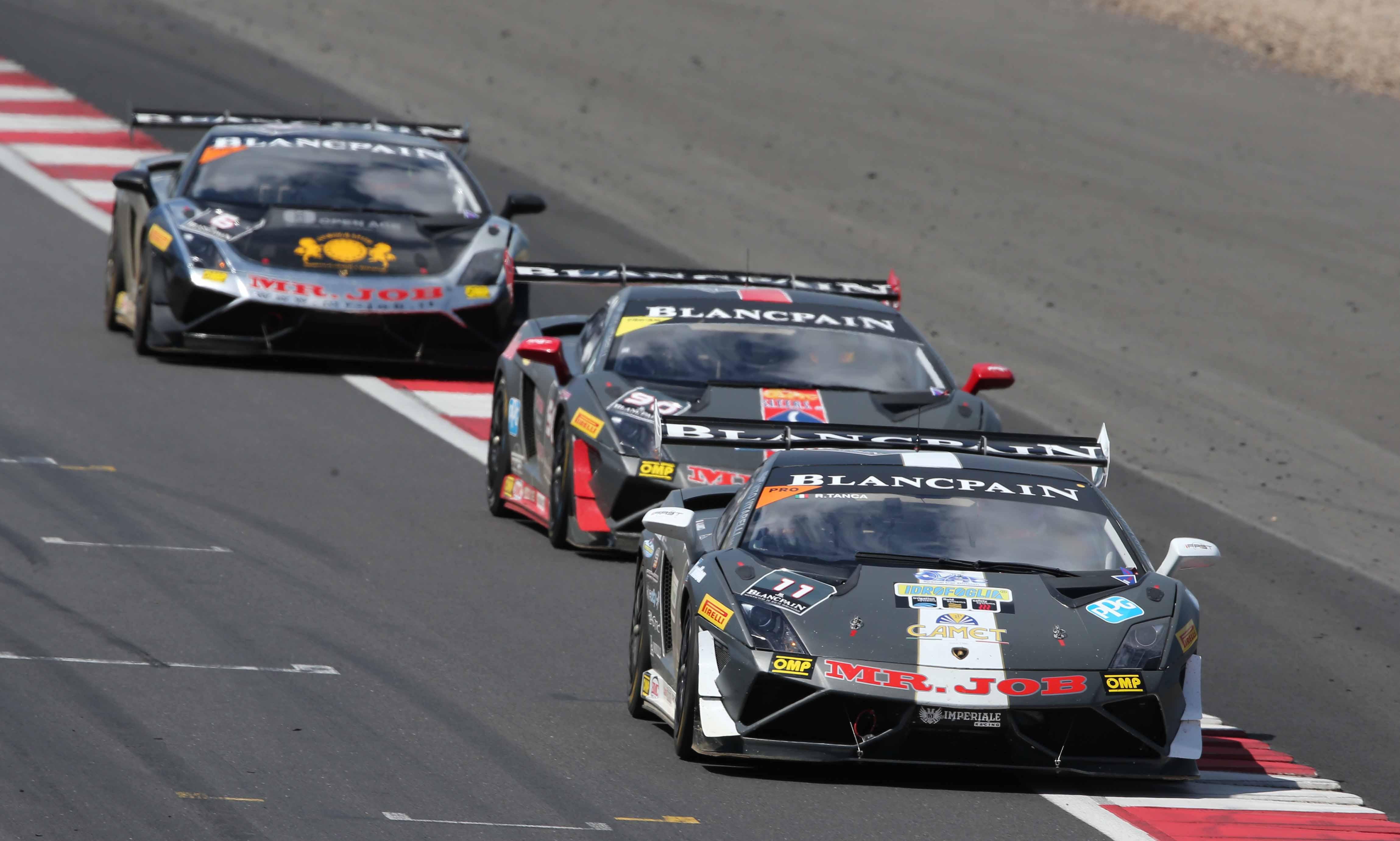 Lamborghini Trofeo: griglia da record al Paul Ricard