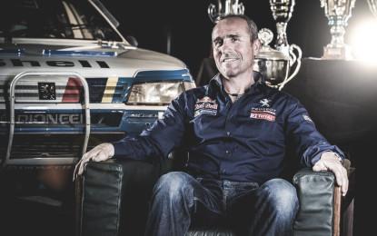 Stéphane Peterhansel alla Dakar 2015 con Peugeot