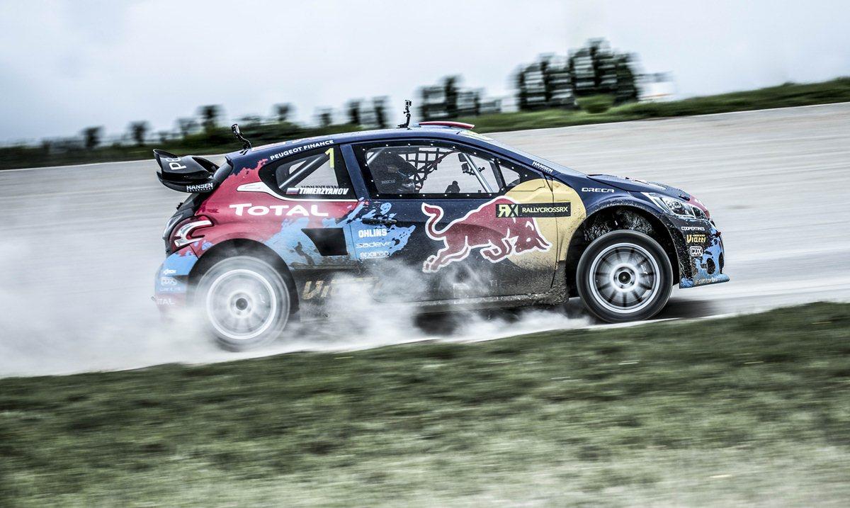 Il Team Peugeot-Hansen in Finlandia