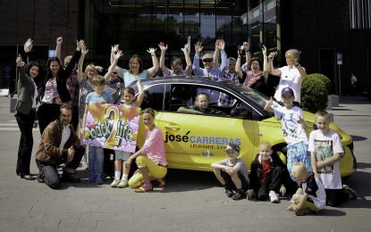 Opel ADAM per la Fondazione José Carreras