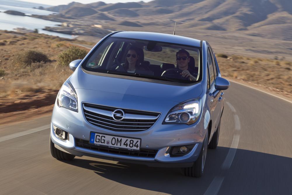 Nuova Opel Meriva: arriva il diesel da 95 CV