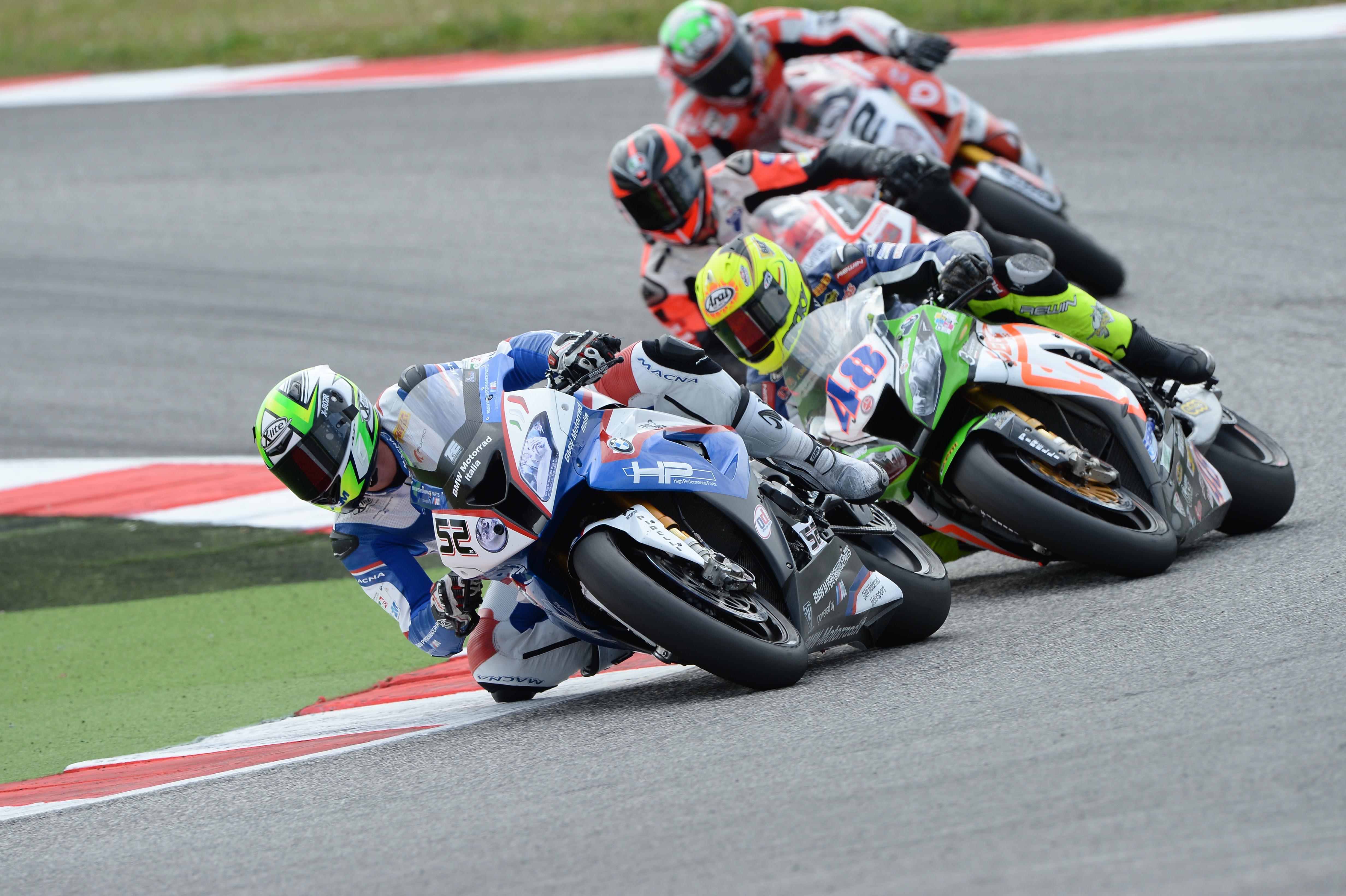 Weekend molto positivo per il BMW Motorrad Italia SBK Team