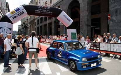 Trofeo Renault per auto storiche alla Coppa dei Tre Laghi