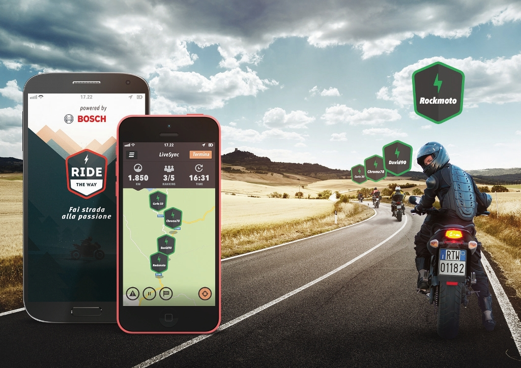 L'App di Bosch Ride the Way ancora più social