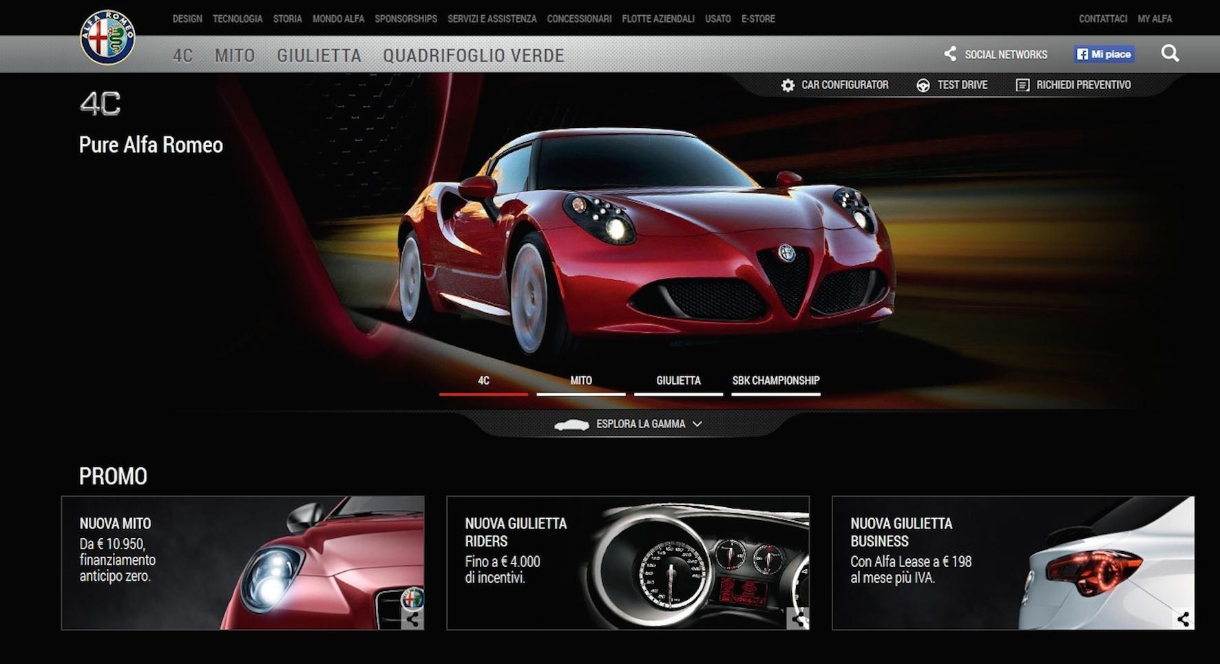 Wedoo vince ancora con Alfa Romeo 4C