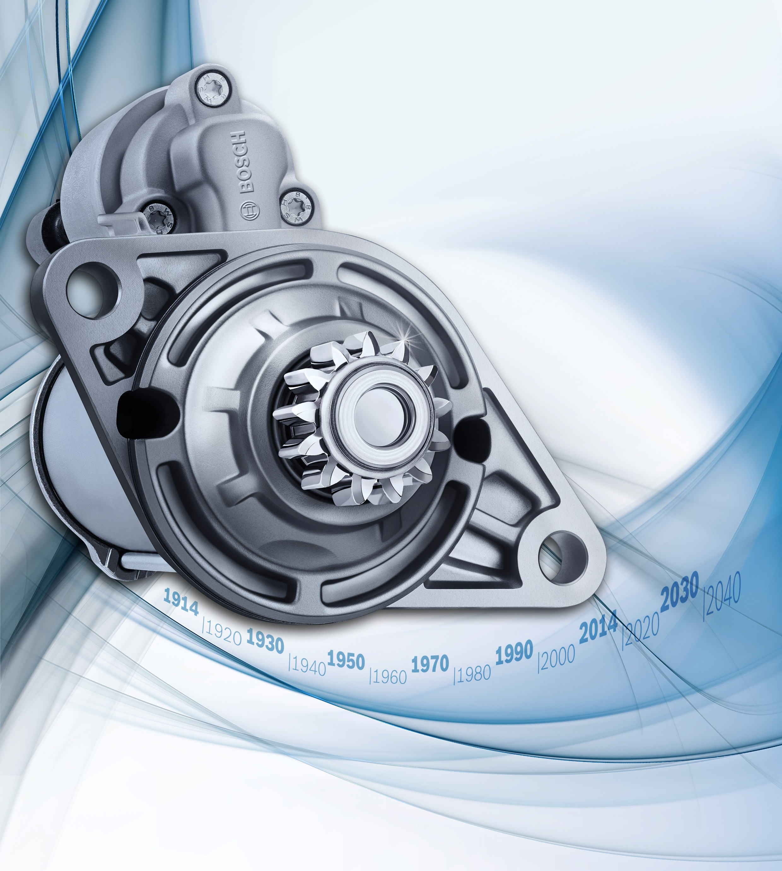 Bosch e i 100 anni dei motorini di avviamento