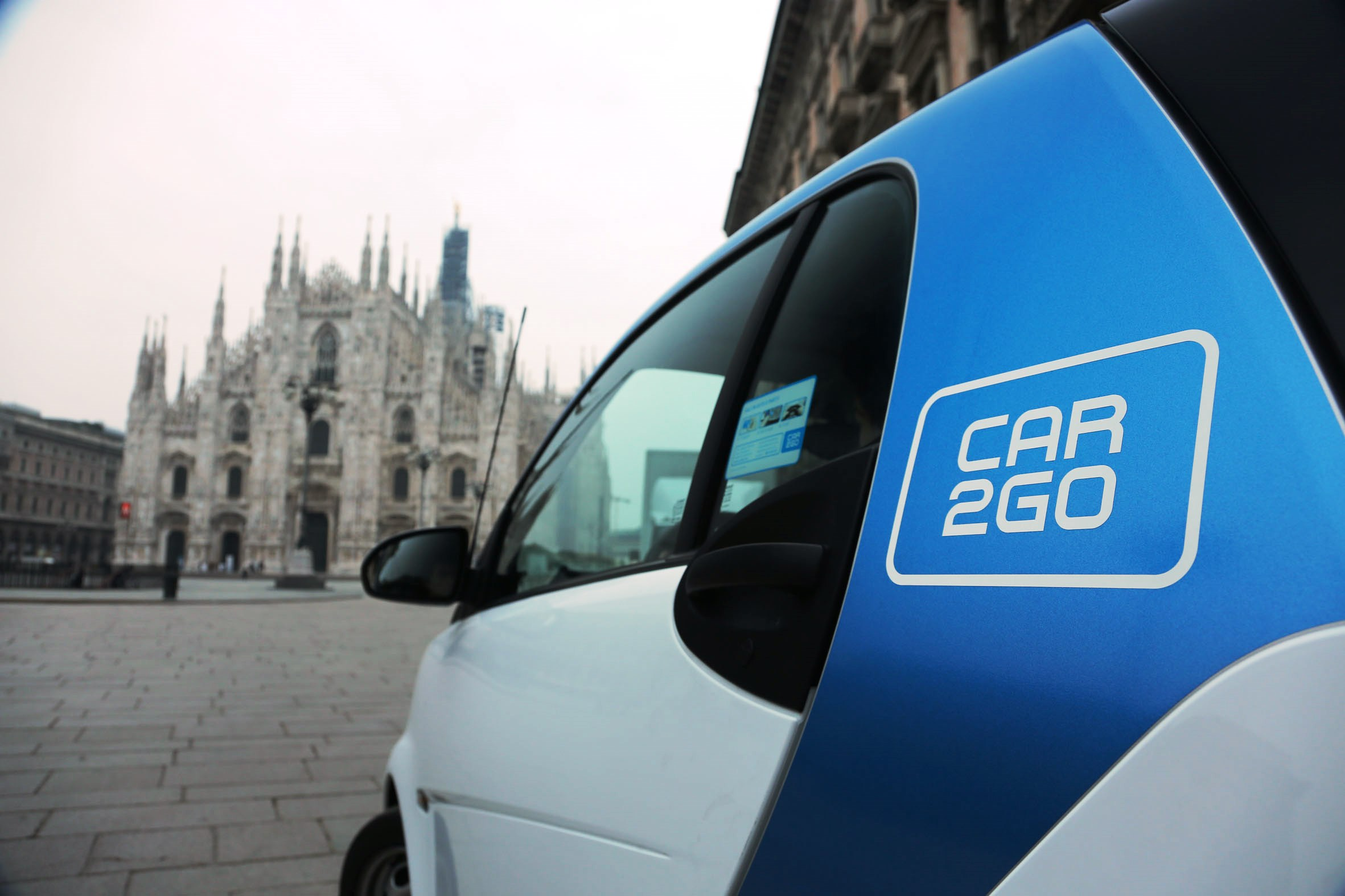 car2go da record: 110.000 iscritti in Italia