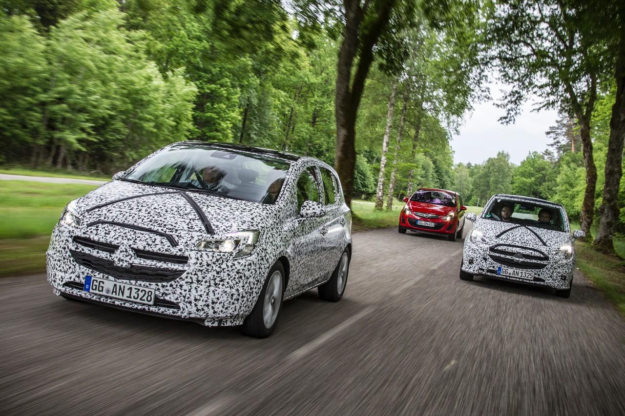 Opel Corsa: quinta generazione in arrivo a fine 2014