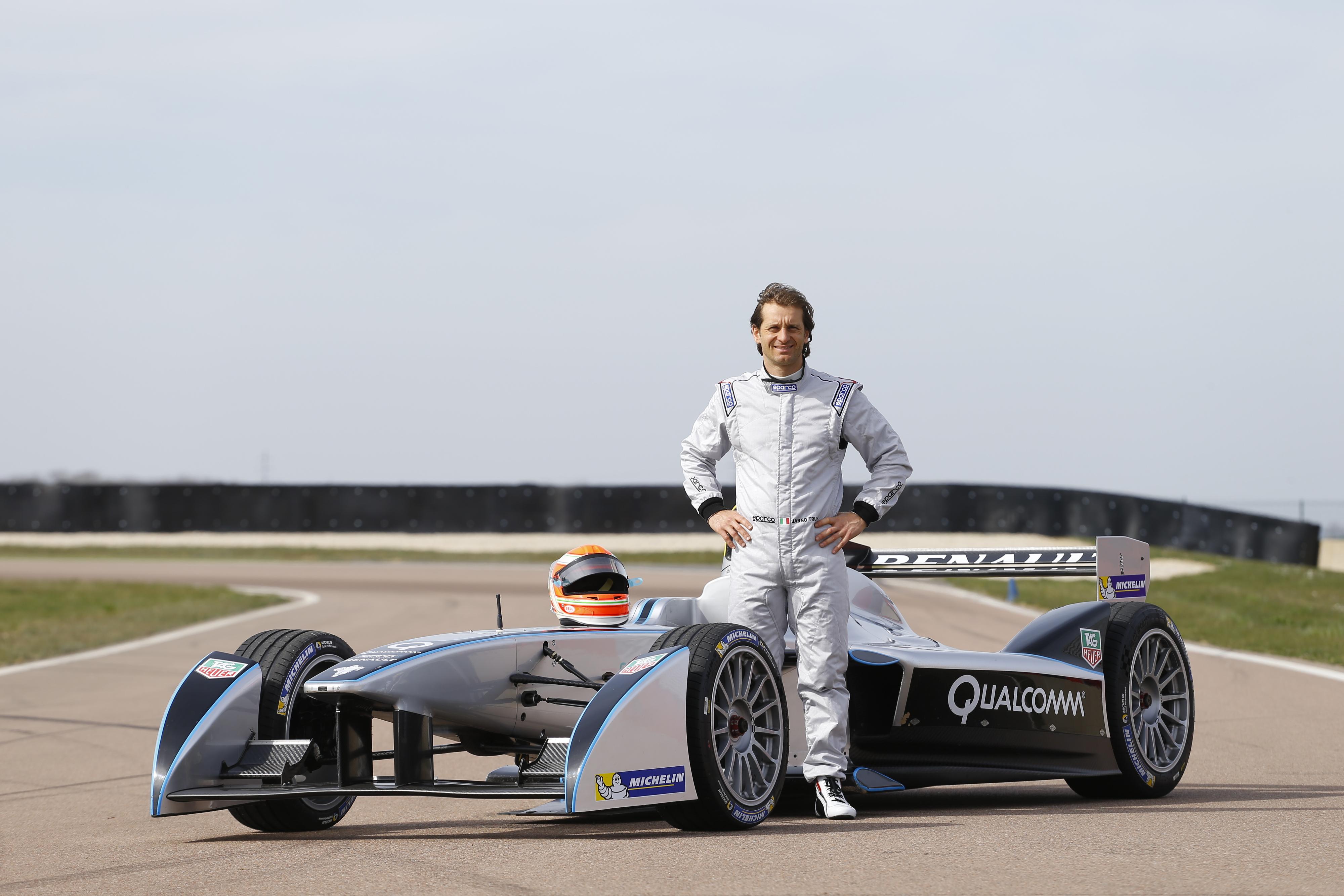 Jarno Trulli in Formula E con il TrulliGP Team