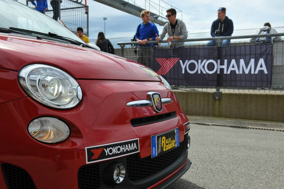 Yokohama sponsor del Rally Italia Talent