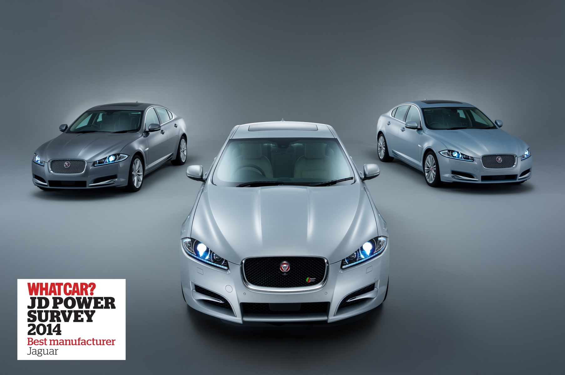 Jaguar best brand nello studio What Car?
