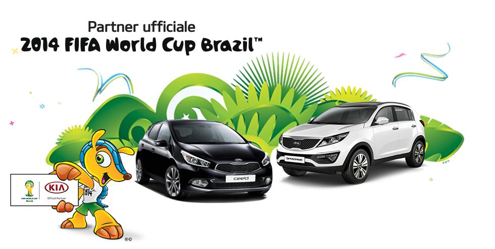 Kia protagonista a tutto campo dei Mondiali di Calcio
