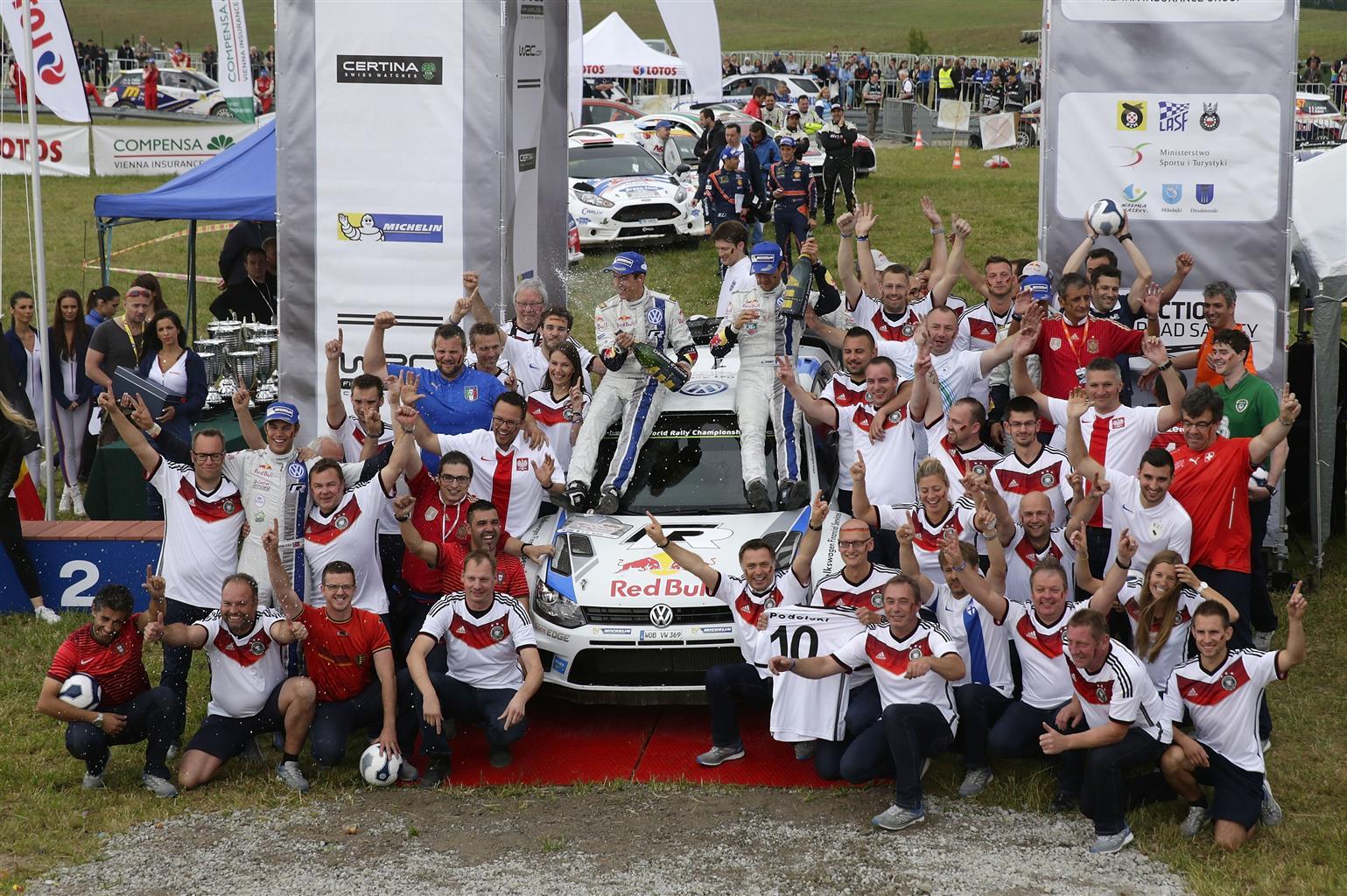 Ogier e Mikkelsen, doppietta VW in Polonia