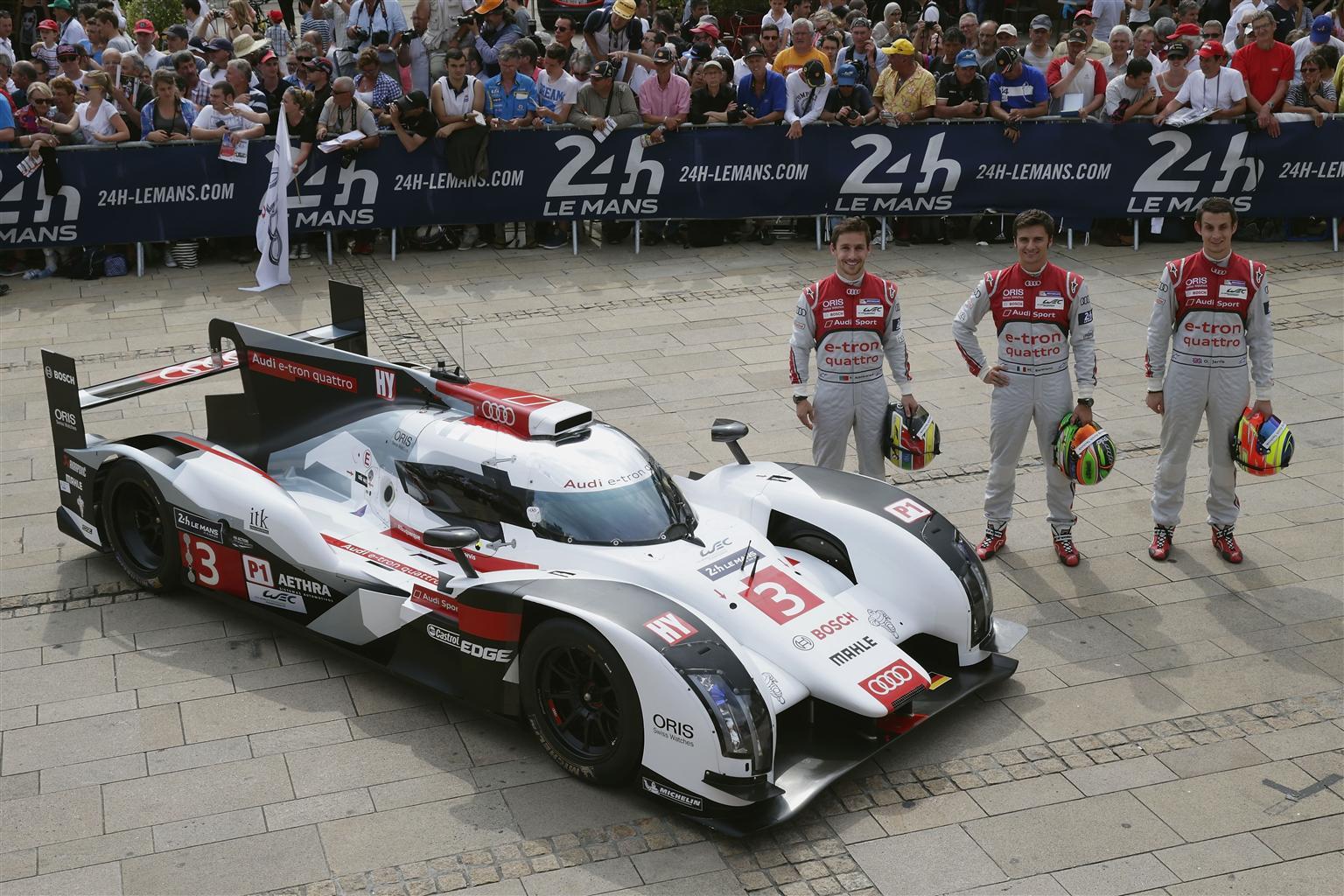 Un italiano con Audi alla 24 Ore di Le Mans