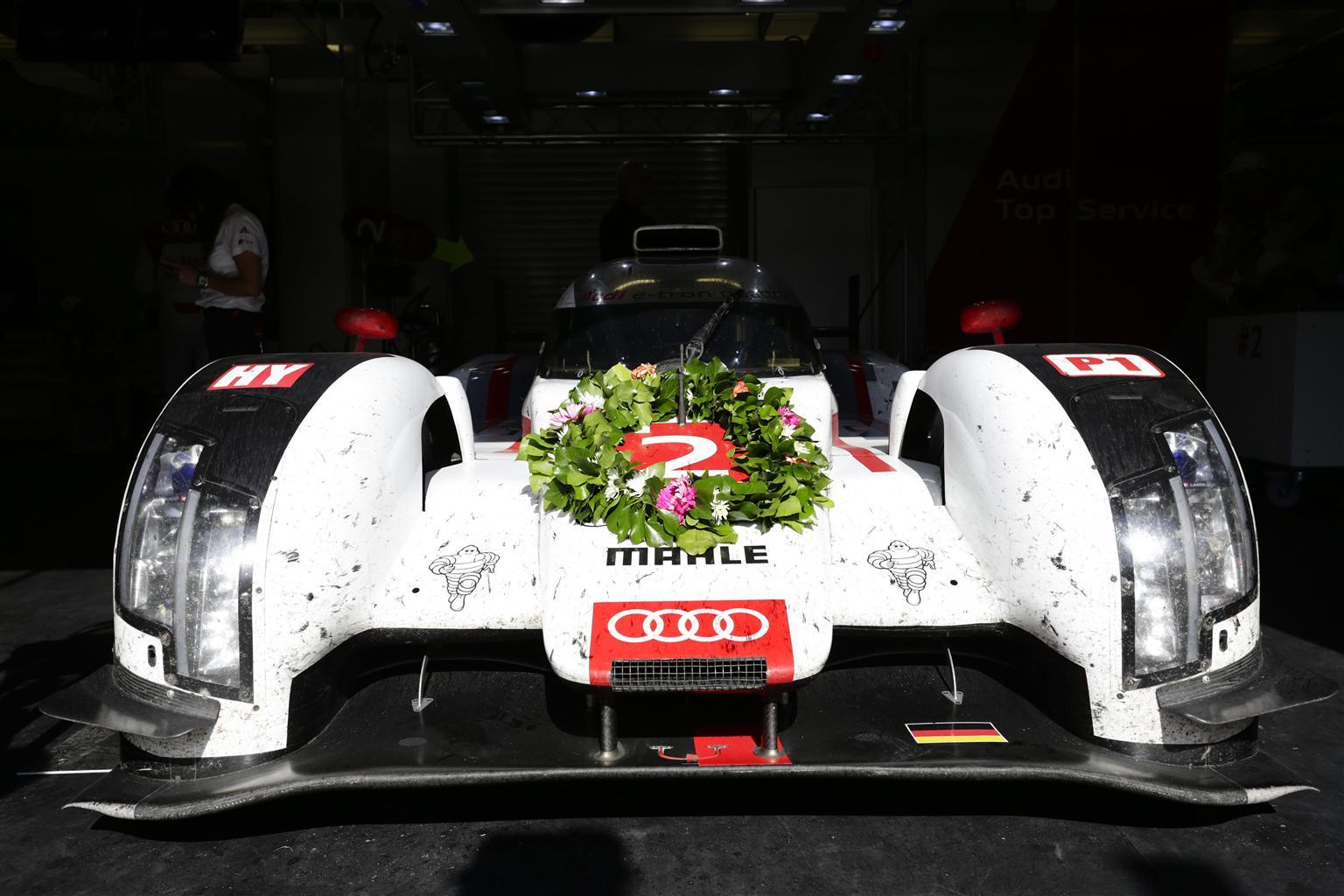 Audi conquista Le Mans per la 13° volta