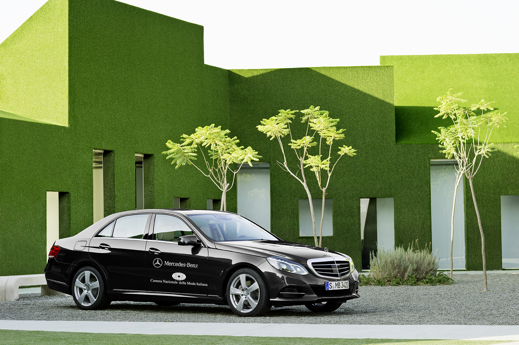 Mercedes-Benz sponsor di Milano Moda Uomo