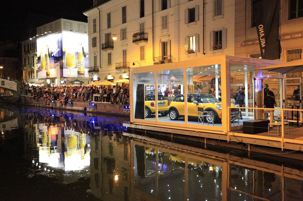 MINI MILANO sbarca sul Naviglio per le Notti Mondiali