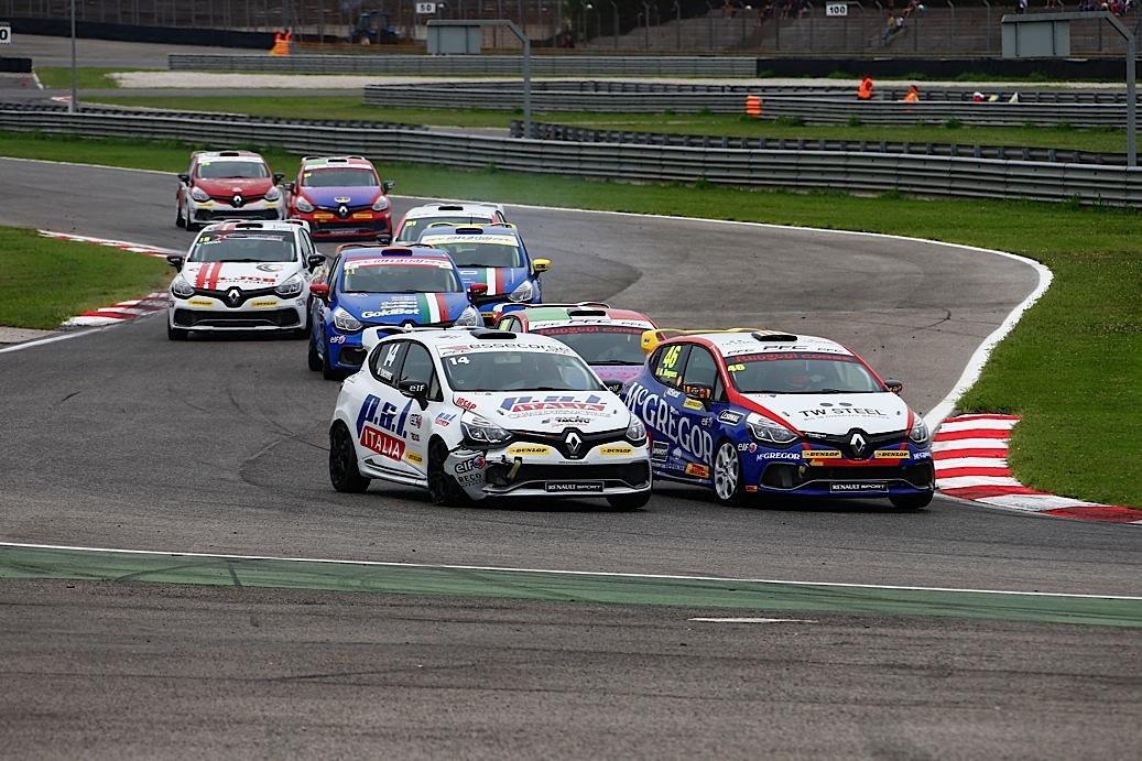Clio Cup Italia: in Gara 2 vince Nogues