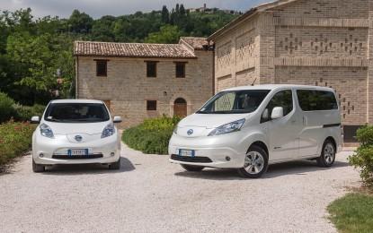 LEAF ed e-NV200 nella prima micro-città sostenibile d'Italia