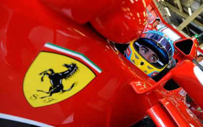 GB: Ferrari il punto sulle qualifiche a Silverstone