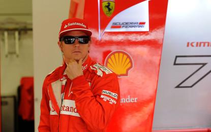 """Kimi: """"Fiducia al 100% nella gente che lavora a Maranello"""""""