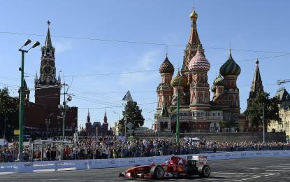 La Scuderia protagonista a Mosca