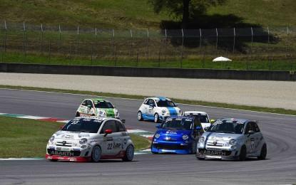 Trofeo Abarth: Lilja conquista Gara 1