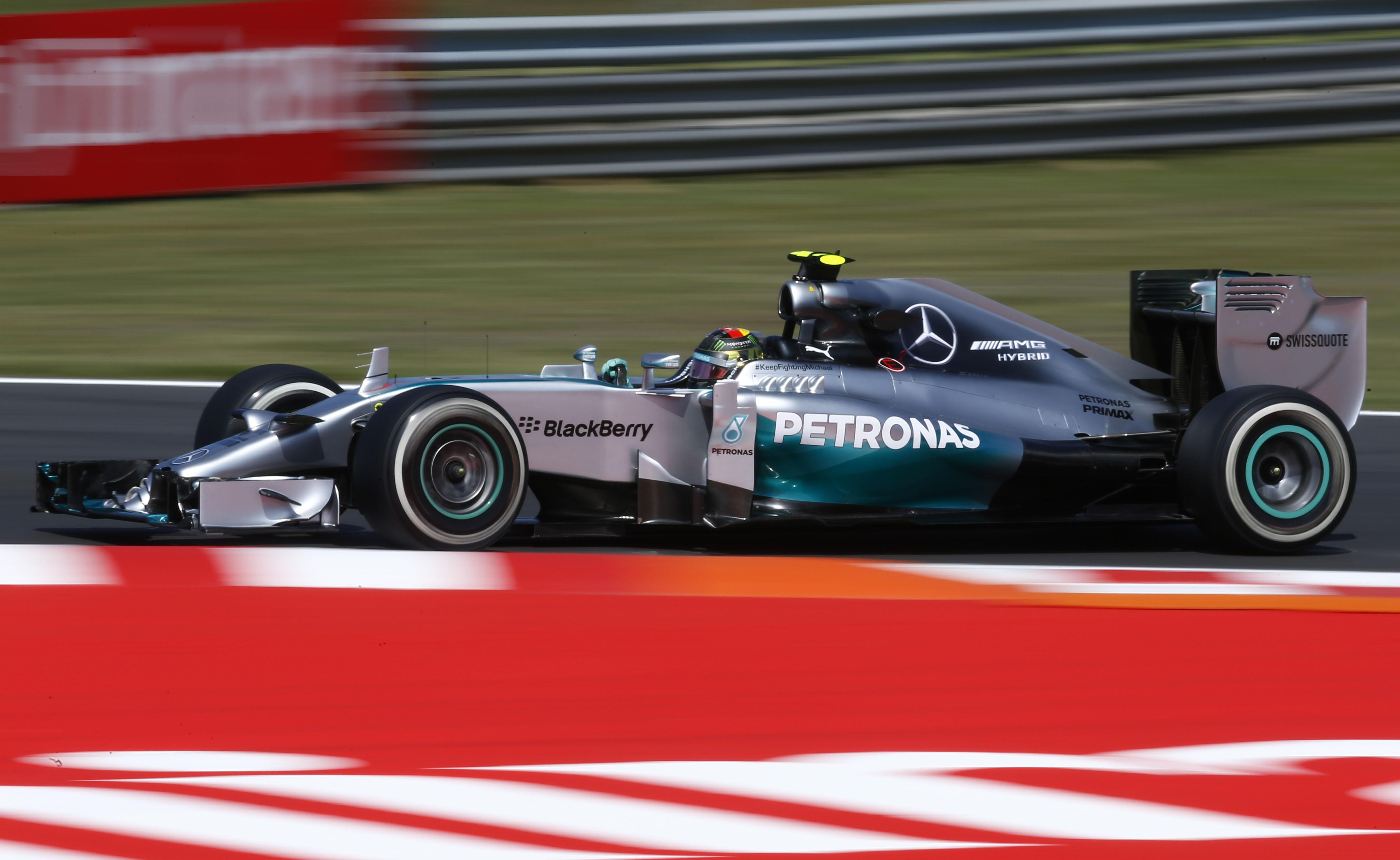 Ungheria: Rosberg in pole ringrazia il Q1