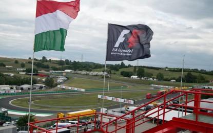 Via da oggi al GP d'Ungheria