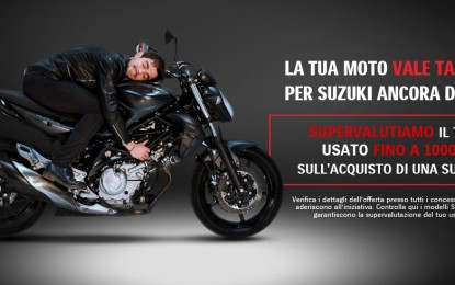 Con Suzuki l'usato vale di più