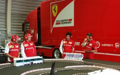 Kimi e Fernando a Silverstone… in miniatura!