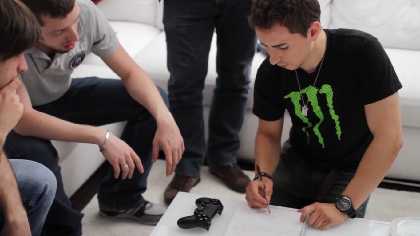 MotoGP™ 14 testato da Jorge Lorenzo