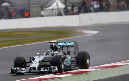 GB: Rosberg in pole. Ferrari fuori nel Q1