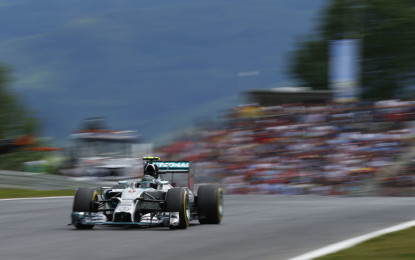 GB: prime libere a Rosberg, Ferrari 3° e 5°