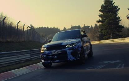 Range Rover Sport SVR al Nürburgring