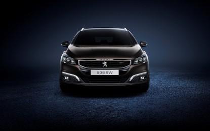 Nuova Peugeot 508: gamma e prezzi