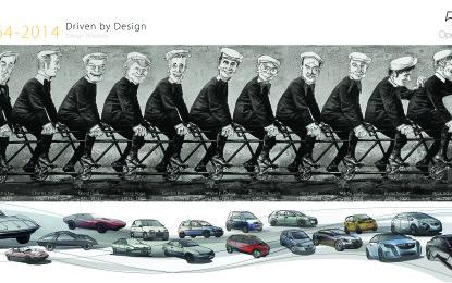 Opel Design Studio: 50 anni di innovazioni
