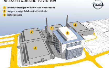 Opel avvia i lavori del centro motori del futuro