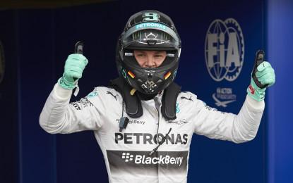 Ungheria: sesta pole per Rosberg