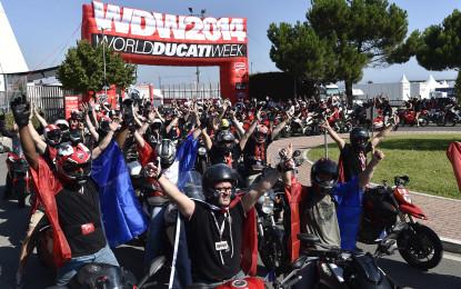 WDW2014: è iniziata la festa Ducati a Misano