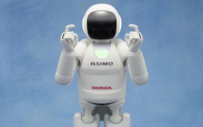ASIMO fa il suo debutto in Europa