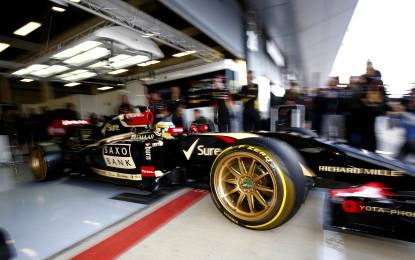 """Primo test in pista del nuovo Pirelli concept da 18"""""""