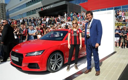 Audi TT: prima uscita a Casa Milan