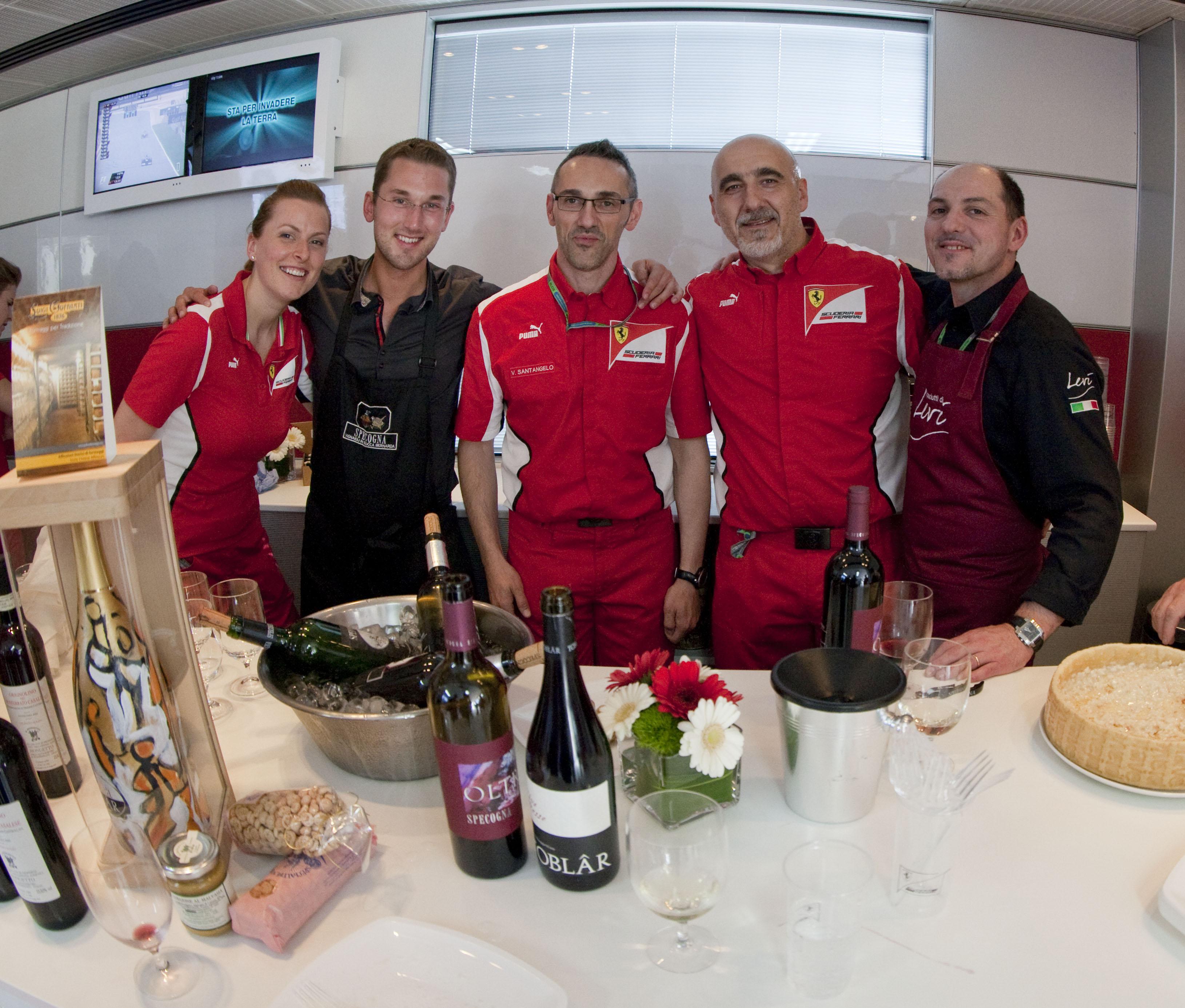 I sapori del Friuli Venezia Giulia nel motorhome Ferrari