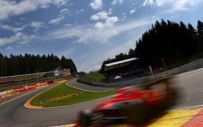 La Formula 1 riparte da Spa-Francorchamps